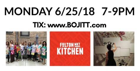 PAINT It OUT with BOJITT @ Fulton Market Kitchen