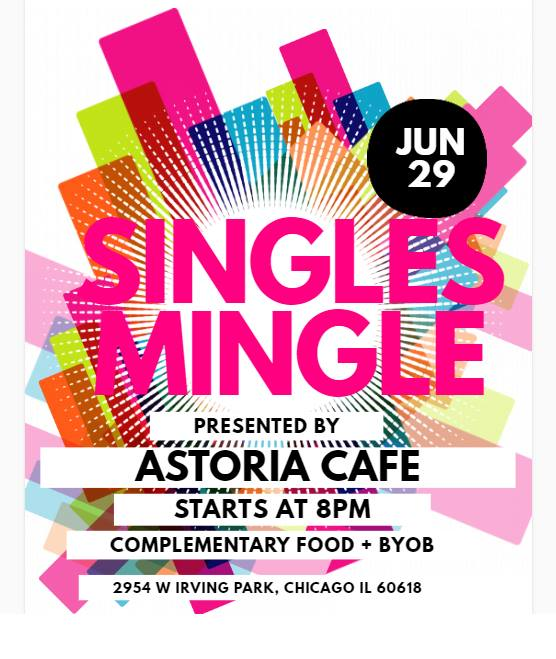 Singles Mingle at Astoria @ Astoria Café & Bakery