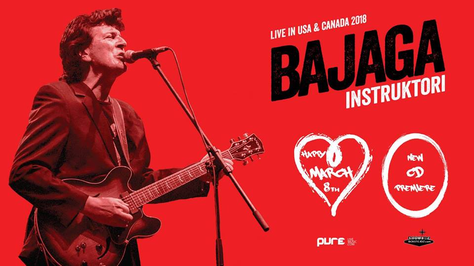 BAJAGA I INSTRUKTORI - USA tour , Chicago 2018 @ Joe's Live Rosemont