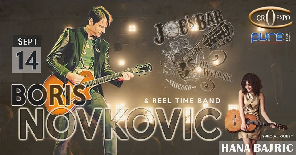 Boris Novkovic - Live in Chicago 2018 @ Joe's on Weed St.