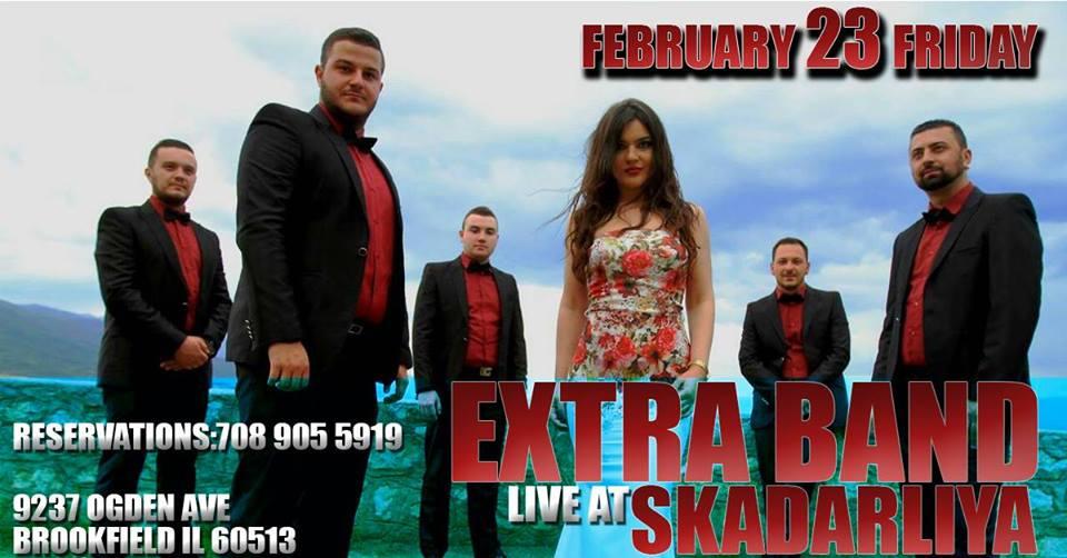 SKADARLIYA , EXTRA BAND LIVE @ Skadarliya Restaurant