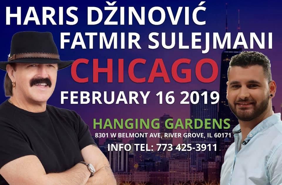 Haris Dzinovic i Fatmir Sulejmani USA Tour 2019 - Hanging Gardens @ Hanging Gardens