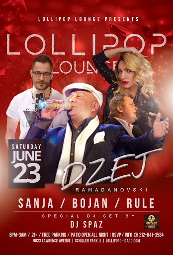 DZEJ RAMADANOVSKI - LOLLIPOP LOUNGE CHICAGO @ LOLLIPOP LOUNGE