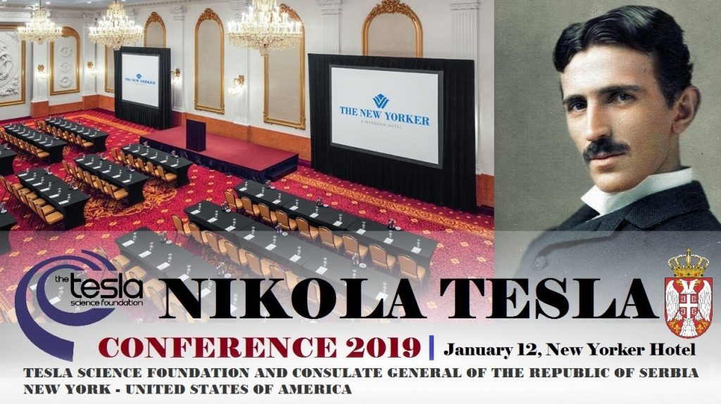 Nikola TESLA Conference 2019 - 12.January New York