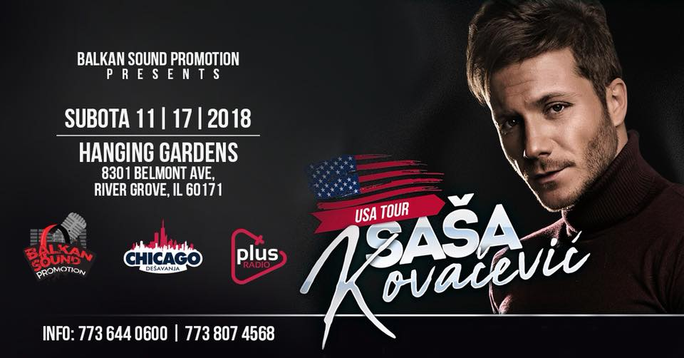 Sasa Kovacevic - Koncert Chicago 2018 @ Hanging Gardens Banquets