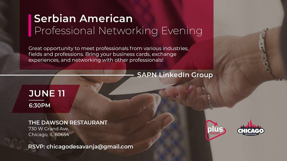 Serbian-American Professional Networking Evening @ The Dawson