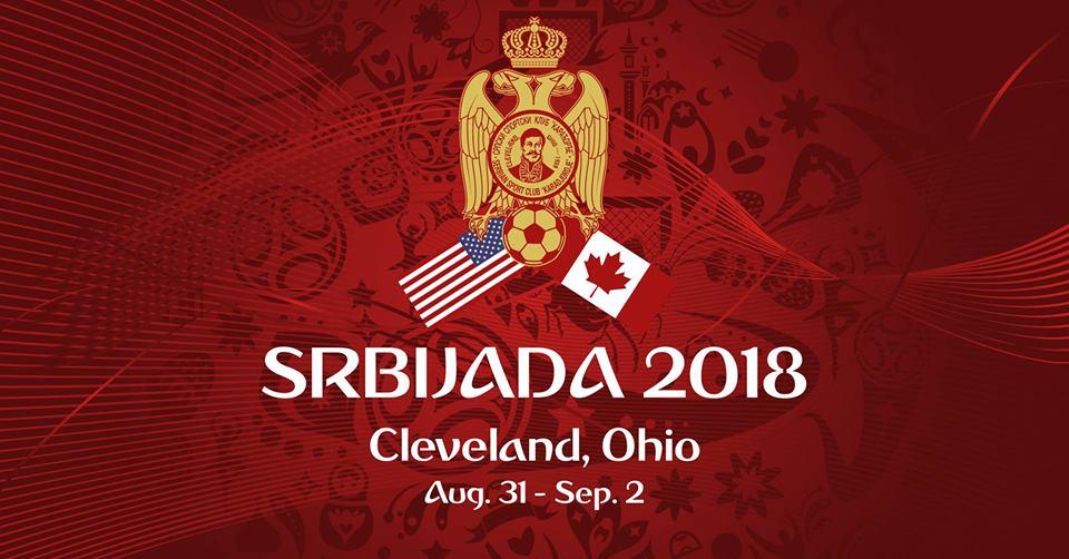"Srbijada 2018 - Србијада 2018 Cleveland @ Saint Sava Serbian Orthodox Church - Српска православна црква ""Свети Сава"""