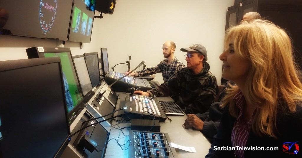 Srpska Televizija Cikago SAD - novi studio