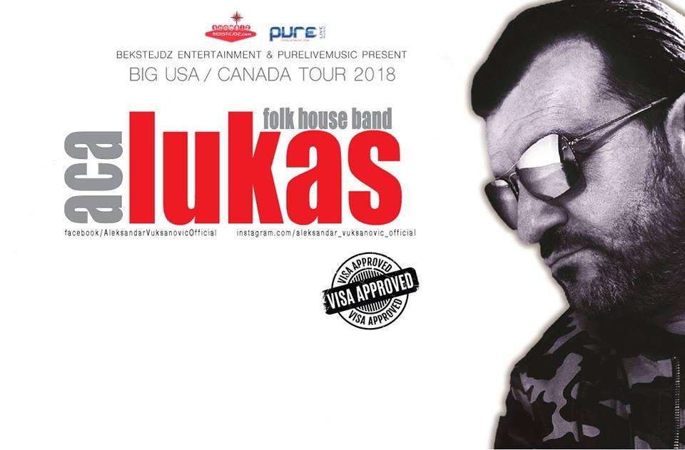 ACA LUKAS USA AND CANADA TOUR 2018 (ODLOŽENO) @ Joe's Live Rosemont