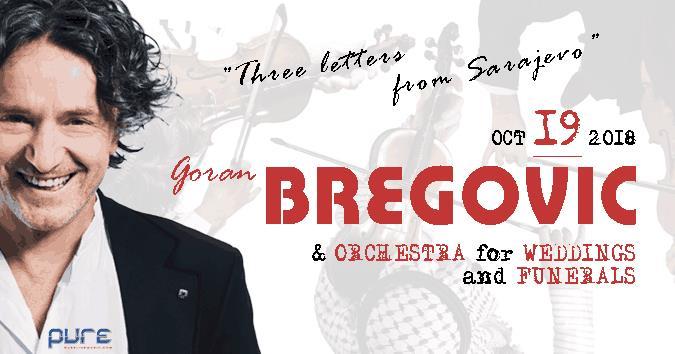 Goran Bregović - koncert u Čikagu 2018 @ Copernicus Center