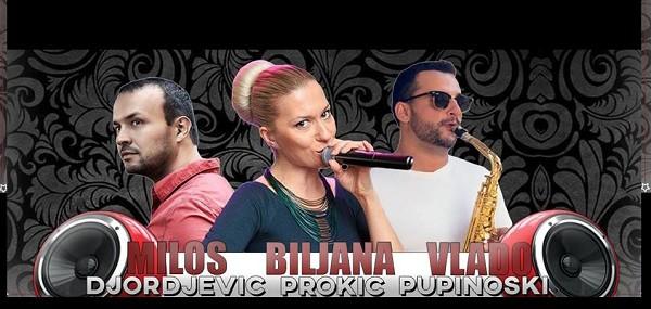 Skadarliya Restaurant - Live Music, Biljana Prokic, Milos Djordjevic i Vlado Pupinoski @ Skadarliya Restaurant