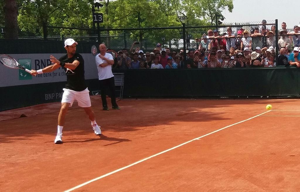 Novak Djokovic Rolan Garos