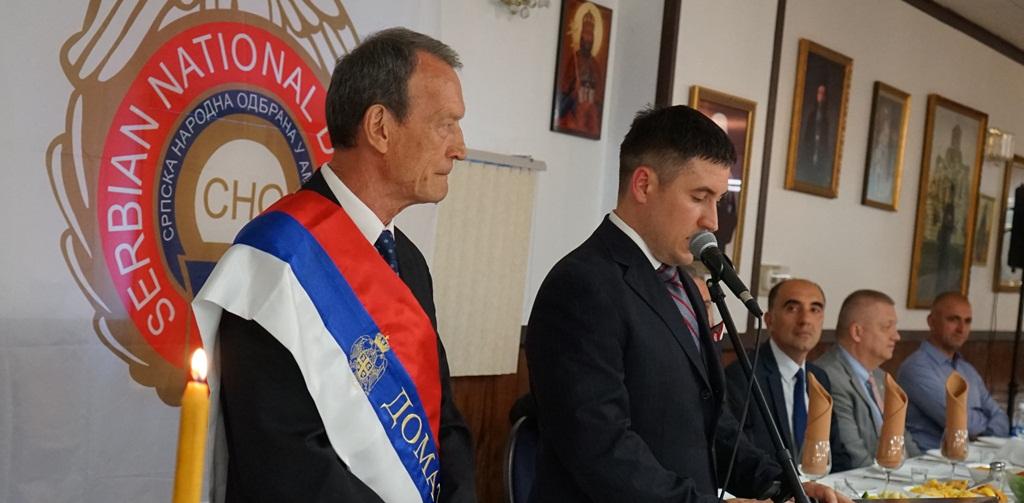 103 rodjendan, 65 godina od prvog lista Sloboda, slava Sv Lazar Kosovski, pomen preminulim članovima organizacije i Vidovdan. SNO Cikago