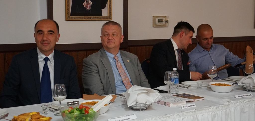 103 rodjendan, 65 godina od prvog lista Sloboda, slava Sv Lazar Kosovski, pomen preminulim članovima organizacije i Vidovdan. SNO Cikago, Srpska Narodna Odbrana
