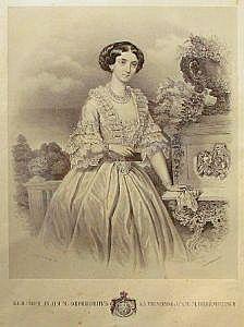 Kneginja-Julija-Obrenović-1854.-Litografija-Anastasa-Jovanovića