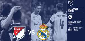 2017 MLS ALL-STARS VS. REAL MADRID, CHICAGO Wed 8/2 @ 8pm @ 2017 MLS All-Star