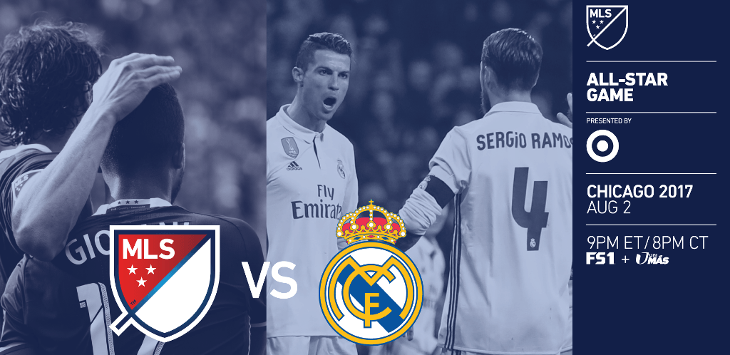 MSL ALL STAR VS REAL MADRID
