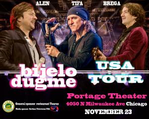 BIJELO DUGME U ČIKAGU - USA TOUR 2017 @ Portage Theater