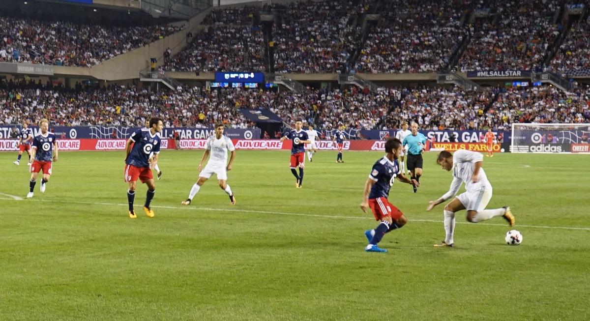 MLS ALL-STAR VS REAL MADRID Serbian Television USA728