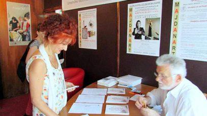 (06) Doček, uručenje kataloga, sertifikata i mini brošure o Crkvi Sv. apostola Petra i Pavla u Majdanpeku u izdanju MajdanArta