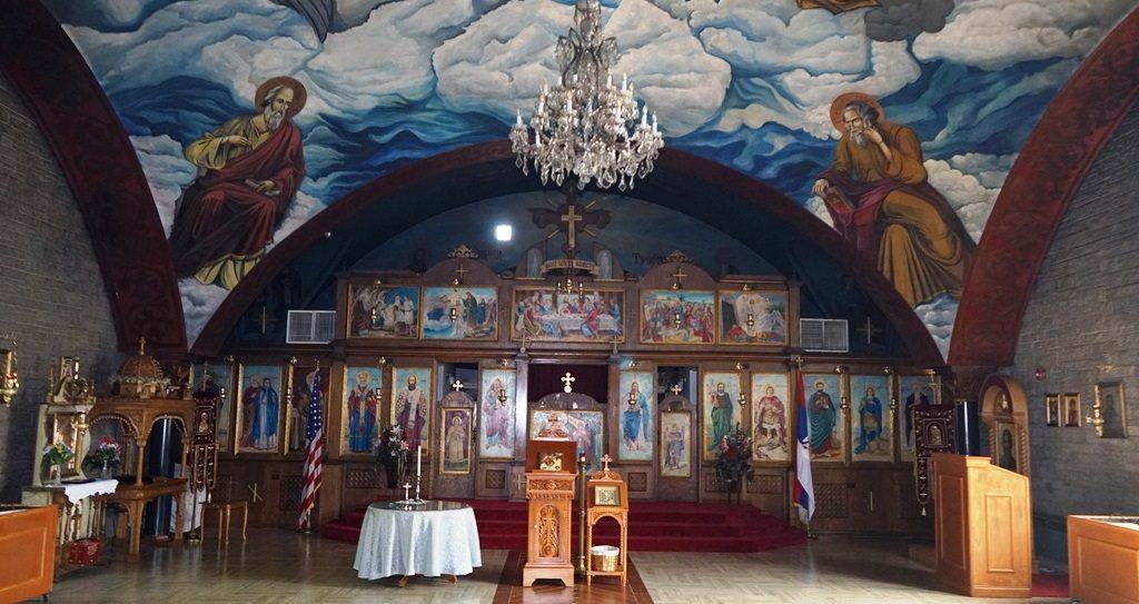 Crkva Sv. Jovan Bellwood IL Sv. Jovan Krstitelj, Srpska Pravoslavna Crkva