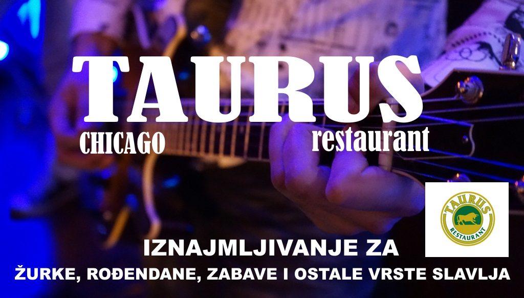 Restaurant Taurus 4024 N Milwaukee Ave Chicago, Illinois (773) 657-3294 Best Wood fired pizza in Chicago !
