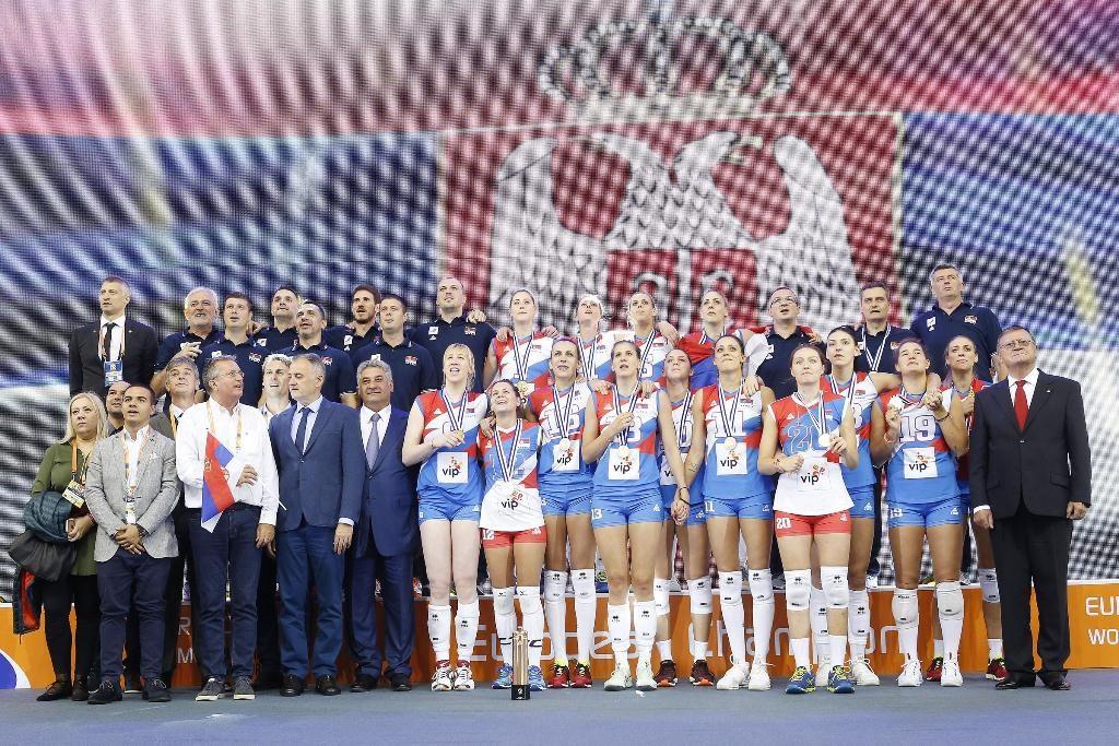 evropsko prvenstvo odbojkašica