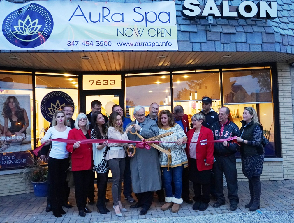 AuRa Spa beauty salon Aura spa kozmeticki salon Niles Chicago