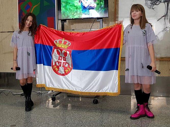 Jana Paunovic i Irina Brodic Junior Evrovision 2017. Srbija Serbia Evrosong