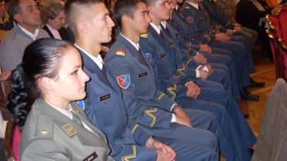 svecana akademija povodom godisnjice oslobodjenja Beograda 6. Kadeti Vojne akadkemije, 1