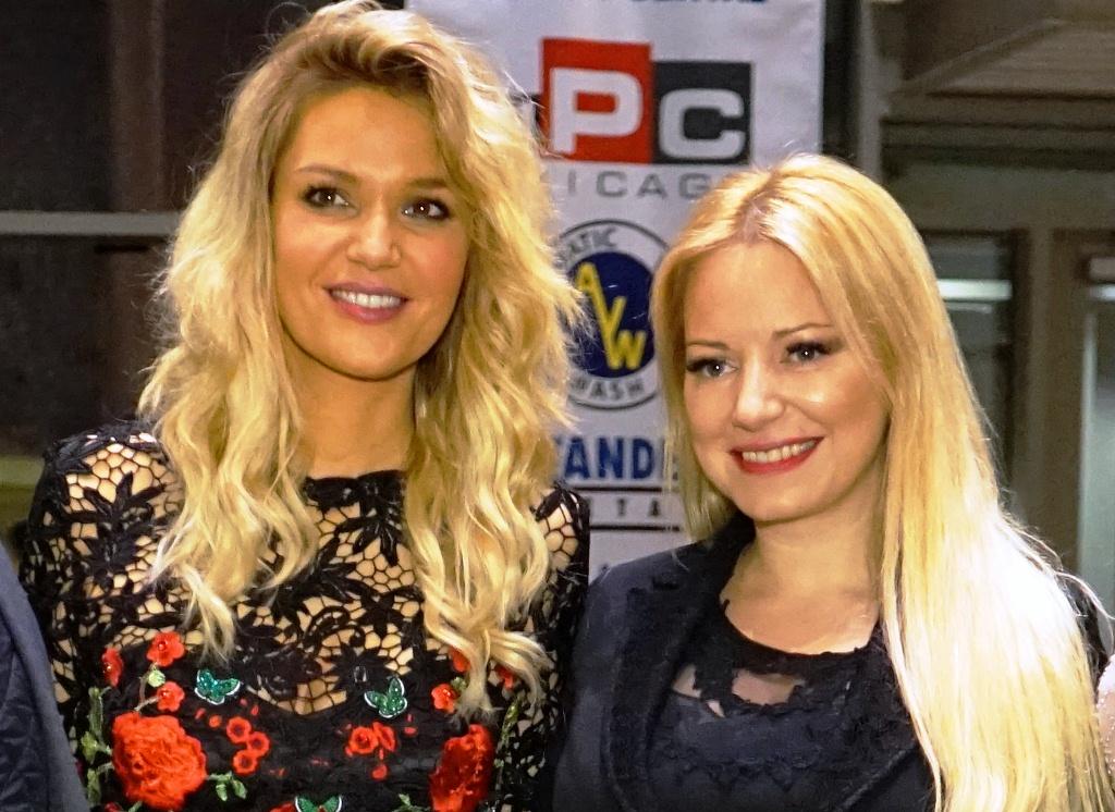 Ivana Jordan i Lena Kovacevic Chicago Serbina Television USA naslovna