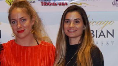 Marija Karan i Hristina Popovic Chicago Srpska Televizija