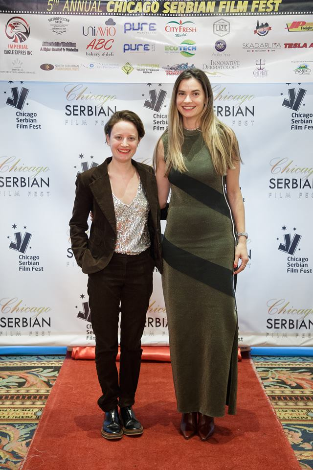 Marija Karan i Masa Dakic Chicago Serbian Film Fest