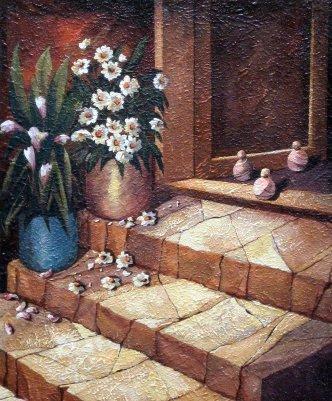 Kućni prag (ulje na platnu)