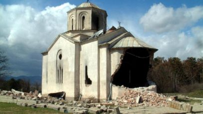 14. Srpska crkva u rusevini, 1