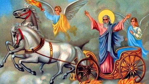 Ikona Eparhije šumadijske - Sv. Prorok Ilija