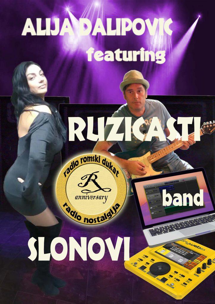 NELA BIJANIĆ I DANKO POPOVIĆ (RUŽICASTI SLONOVI) - USA TOUR @ Skadarliya, Taurus, Župa...