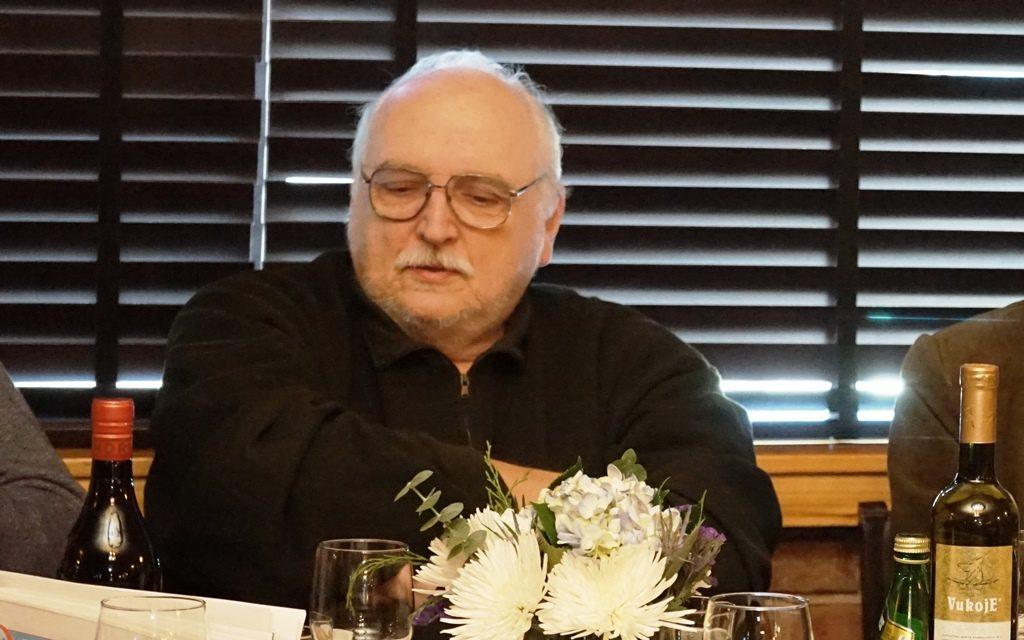 Slobodan Sijan u restoranu Stefan Grill u Cikagu