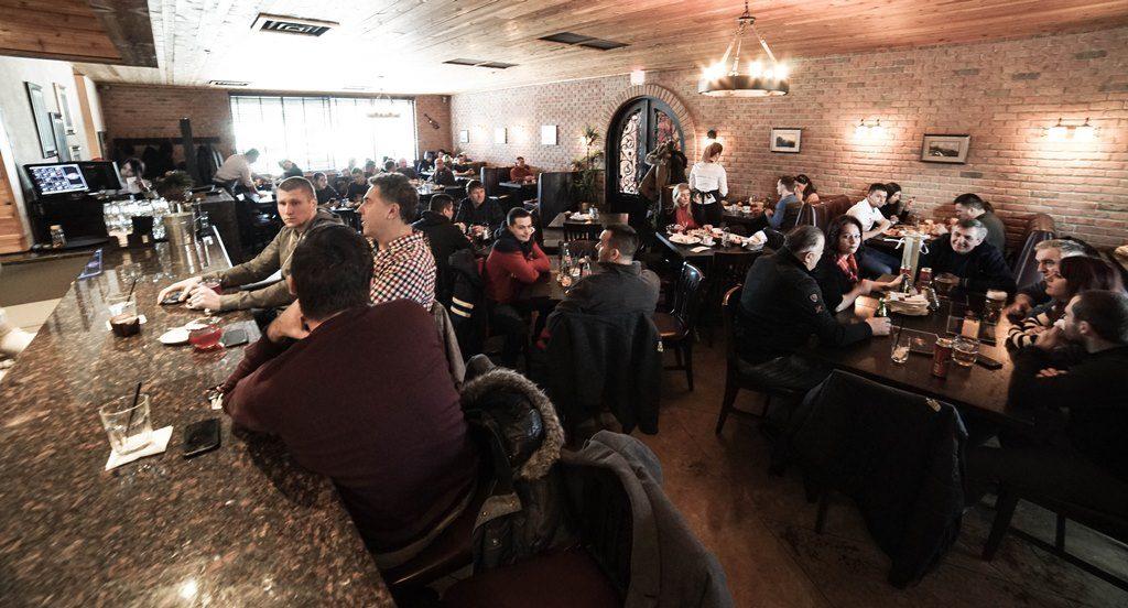 Stefan Bar & Grill. Stefan Grill Chicago. Serbian food Chicago.Balkan food