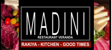 MADINI Restaurant & Veranda, 5700 W. Irving Park Rd. Chicago, Illinois 60634